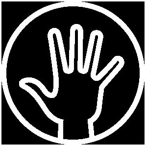 divina_nur Hand_weiss