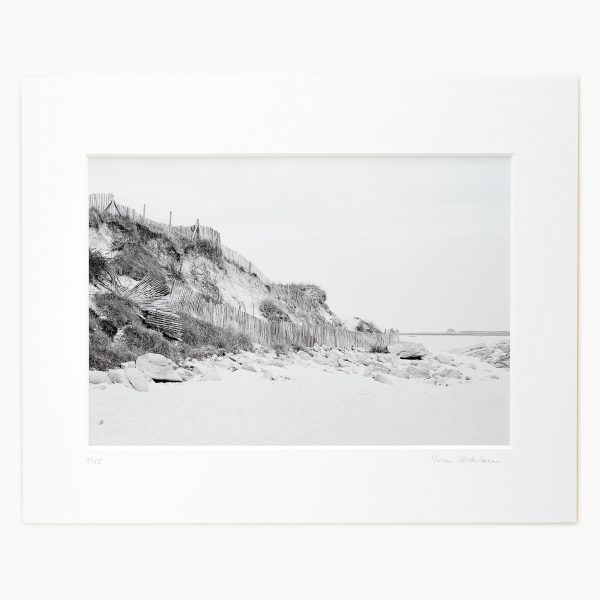 Fences on the Beach of St. Pabu, Brittany FR